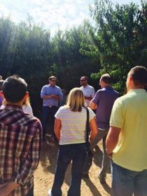 Justin Micheli and Anthony Laney, PCP Peach Growers hosting a Peach Orchard Tour!