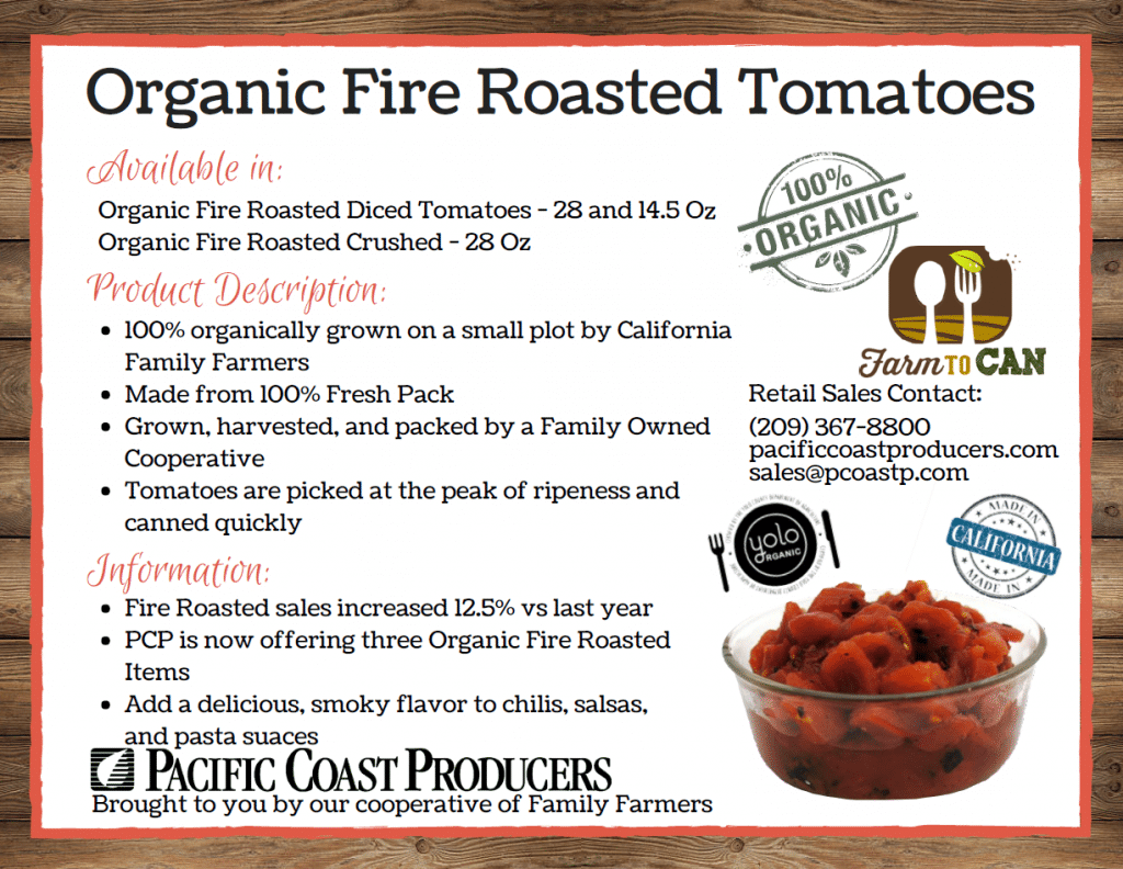 Organic Fire Roasted Tomatoes