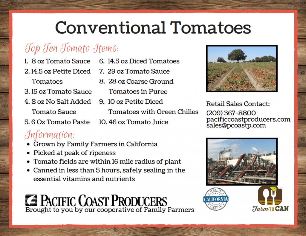 Conventional Tomatoes
